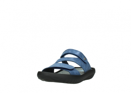 wolky slippers 00885 sense 70800 blue leather_21