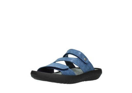 wolky slippers 00885 sense 70800 blue leather_22