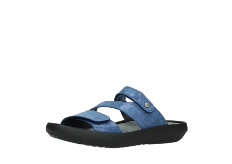 wolky slippers 00885 sense 70800 blue leather_23
