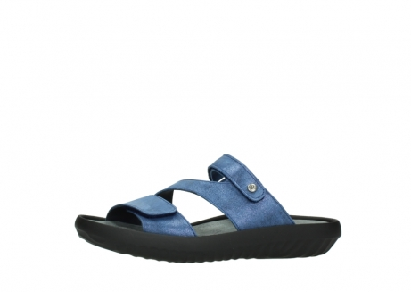 wolky slippers 00885 sense 70800 blue leather_24