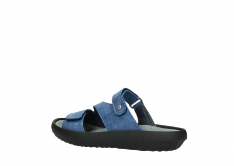 wolky slippers 00885 sense 70800 blue leather_3