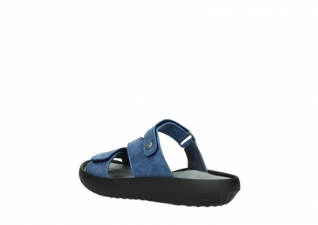 wolky slippers 00885 sense 70800 blue leather_4