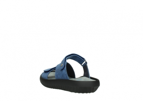 wolky slippers 00885 sense 70800 blue leather_5