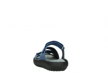 wolky slippers 00885 sense 70800 blue leather_6
