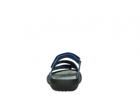 wolky slippers 00885 sense 70800 blue leather_7