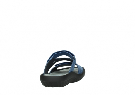 wolky slippers 00885 sense 70800 blue leather_8