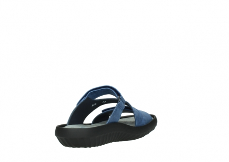 wolky slippers 00885 sense 70800 blue leather_9