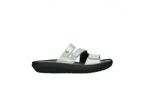wolky slippers 00885 sense 85130 silver leather_1