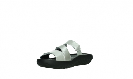 wolky slippers 00885 sense 85130 silver leather_10