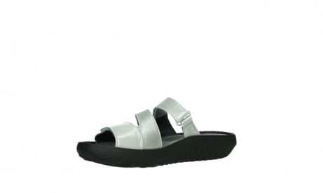 wolky slippers 00885 sense 85130 silver leather_11