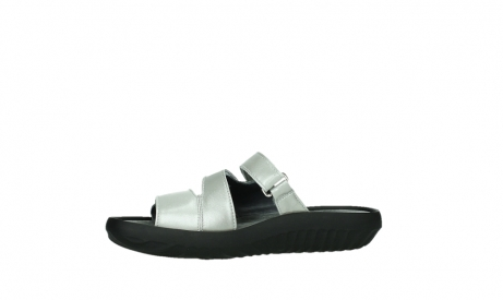 wolky slippers 00885 sense 85130 silver leather_12