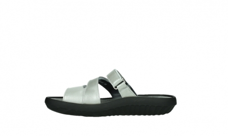 wolky slippers 00885 sense 85130 silver leather_13