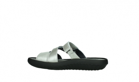 wolky slippers 00885 sense 85130 silver leather_14
