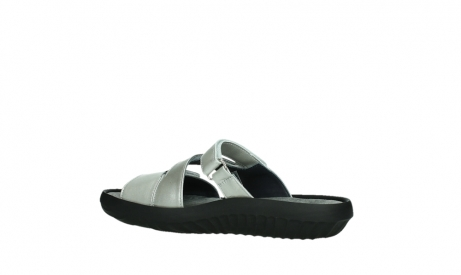 wolky slippers 00885 sense 85130 silver leather_15