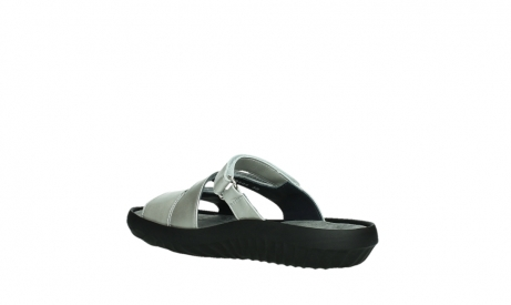 wolky slippers 00885 sense 85130 silver leather_16