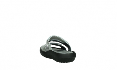 wolky slippers 00885 sense 85130 silver leather_18