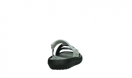 wolky slippers 00885 sense 85130 silver leather_20