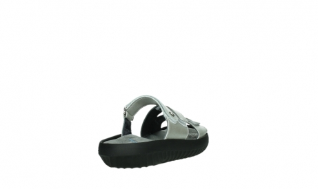 wolky slippers 00885 sense 85130 silver leather_21