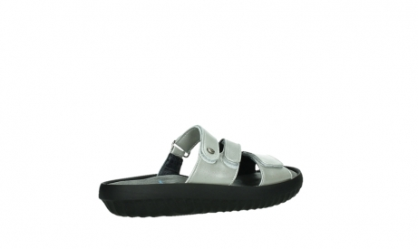 wolky slippers 00885 sense 85130 silver leather_23