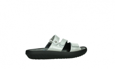 wolky slippers 00885 sense 85130 silver leather_24