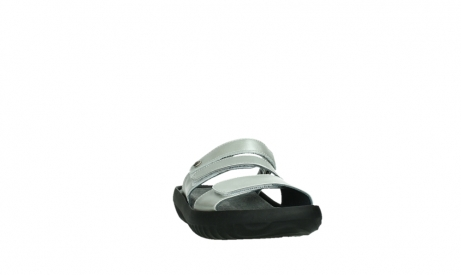 wolky slippers 00885 sense 85130 silver leather_6