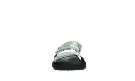wolky slippers 00885 sense 85130 silver leather_7