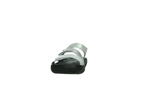 wolky slippers 00885 sense 85130 silver leather_8