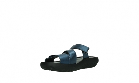 wolky slippers 00885 sense 85800 blue leather_10