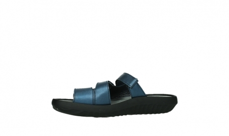 wolky slippers 00885 sense 85800 blue leather_12