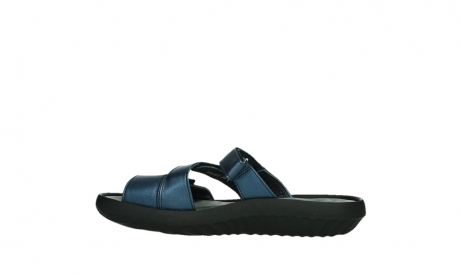 wolky slippers 00885 sense 85800 blue leather_14