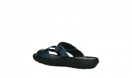 wolky slippers 00885 sense 85800 blue leather_16