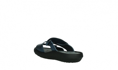 wolky slippers 00885 sense 85800 blue leather_17