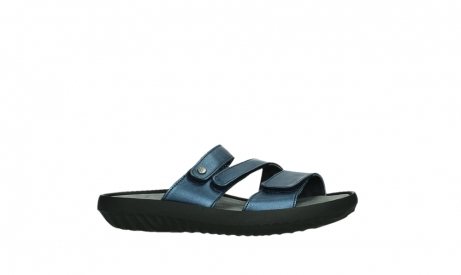wolky slippers 00885 sense 85800 blue leather_2
