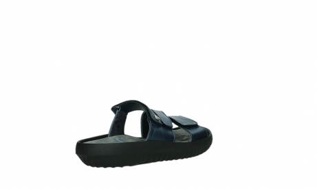 wolky slippers 00885 sense 85800 blue leather_22