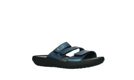 wolky slippers 00885 sense 85800 blue leather_3