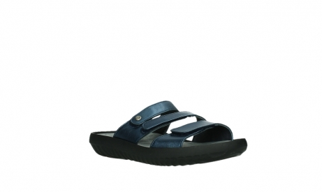 wolky slippers 00885 sense 85800 blue leather_4