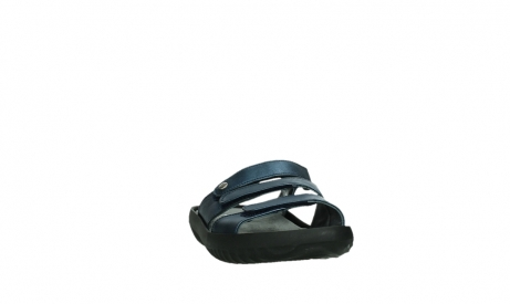 wolky slippers 00885 sense 85800 blue leather_6