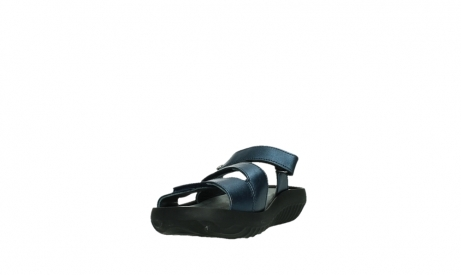 wolky slippers 00885 sense 85800 blue leather_9