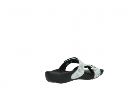 wolky slippers 01000 oconnor 70110 wit zwart canal leer_10