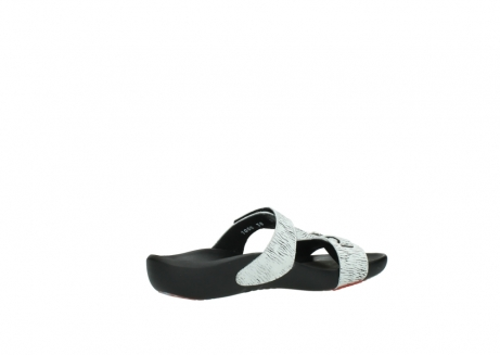wolky slippers 01000 oconnor 70110 wit zwart canal leer_11