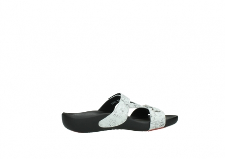 wolky slippers 01000 oconnor 70110 wit zwart canal leer_12