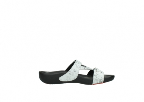 wolky slippers 01000 oconnor 70110 wit zwart canal leer_13