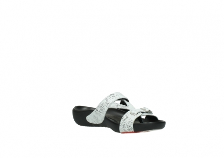 wolky slippers 01000 oconnor 70110 wit zwart canal leer_16