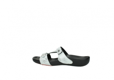 wolky slippers 01000 oconnor 70110 wit zwart canal leer_2