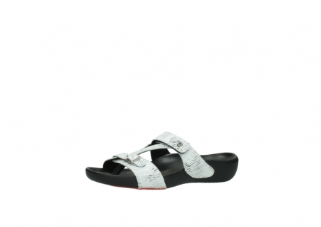 wolky slippers 01000 oconnor 70110 wit zwart canal leer_23