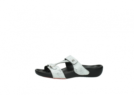 wolky slippers 01000 oconnor 70110 wit zwart canal leer_24