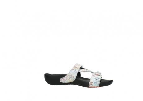 wolky slippers 01000 oconnor 70980 wit multi color canal leer_14