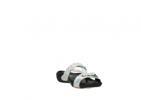 wolky slippers 01000 oconnor 70980 white multi color canal leather_17