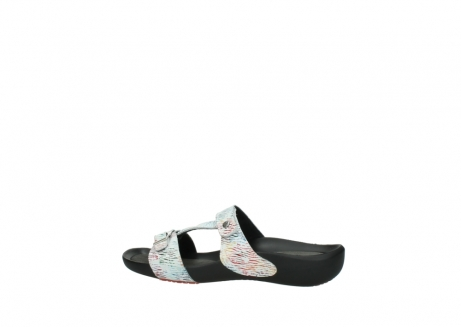 wolky slippers 01000 oconnor 70980 wit multi color canal leer_2