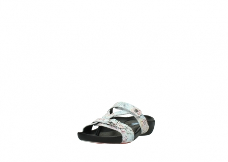 wolky slippers 01000 oconnor 70980 white multi color canal leather_21